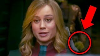 CAPTAIN MARVEL Trailer Breakdown! Super Bowl Avengers Endgame Theory!