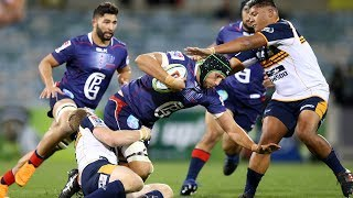 Brumbies v Rebels Rd.13 2018 Super rugby video highlights