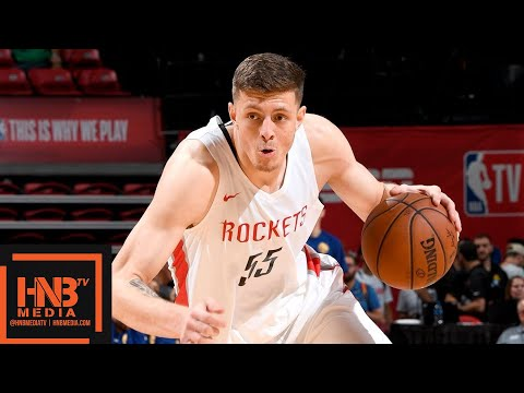 Golden State Warriors vs Houston Rockets Full Game Highlights / July 8 / 2018 NBA Summer League