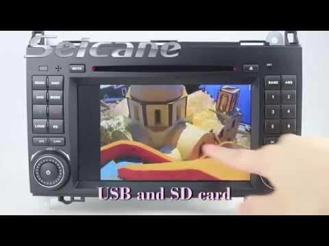 1024*600 Android 4.4 2006-2012 Mercedes Benz Vito Viano Sat Nav Entertainment Radio DVD Stereo