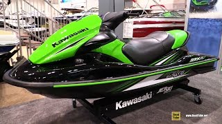 10. 2016 Kawasaki STX 15F Jet Ski - Walkaround - 2016 Toronto Boat Show