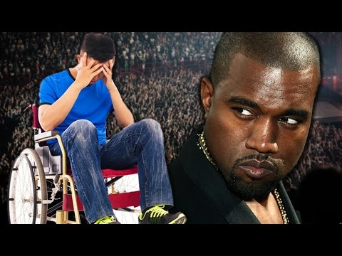 at - Kanye didn't yell at anybody, he's just not a great jokesman. Buy some awesomeness for yourself! http://www.forhumanpeoples.com/collections/sourcefed Our Sources: http://bit.ly/1qEfVU6...