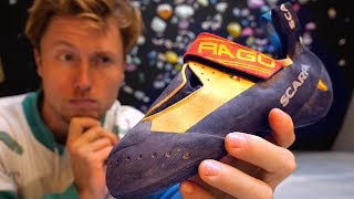 Scarpa Drago: In Depth Climbing Shoe Review by Mani the Monkey