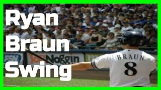 Ryan Braun | Swing Like the Greats