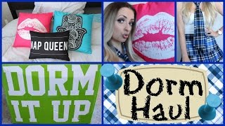 *MOST EPIC DORM HAUL EVER* by Piink Sparkles