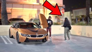 GOLD DIGGER PRANK!! (She Thought I Was Homeless!)