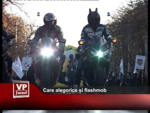Care alegorice și flashmob