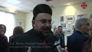 Papa a Cipro  - La Chiesa Maronita di Cipro-2010