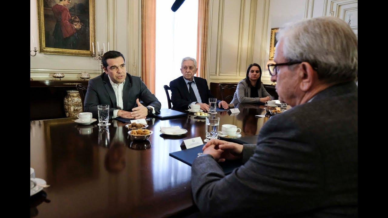 Συνάντηση με το Προεδρείο της Ένωσης Ελλήνων Εφοπλιστών