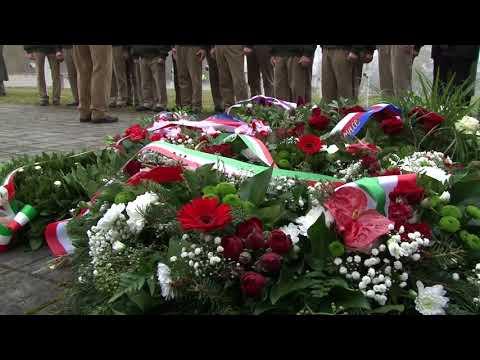 Pietní akt na vojenském hřbitově 18. 11. 2017