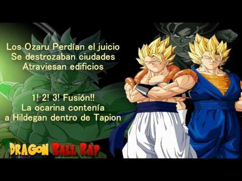 Porta Dragon Ball Rap (en Portugués)