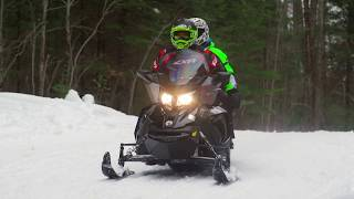 8. Full REVIEW: 2018 Ski-Doo Grand Touring 600 H.O. E-TEC