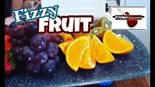 How to Carbonate Your Favorite Fruits using Dry Ice!   Kitchen Instruments