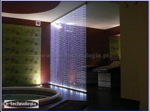Zestaw Kurtyna Światłowodowa, żyrandole do dekoracji, najlepsze dekoracje świetlne