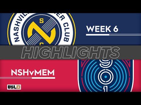 Nashville SC - Memphis 2:0. Видеообзор матча 14.04.2019. Видео голов и опасных моментов игры