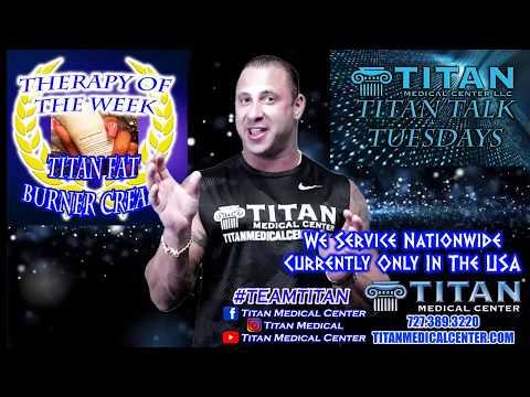 TITAN TALK TUESDAY: Thymosin Alpha One (TA1), Events, Fat Burner Cream, Injections!
