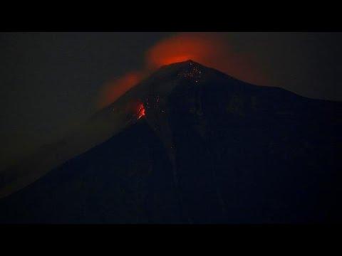 Στο euronews μάρτυρας της έκρηξης ηφαιστείου στη Γουατεμάλα…