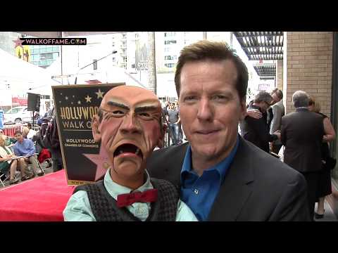 Jeff Dunham Walk of Fame Ceremony