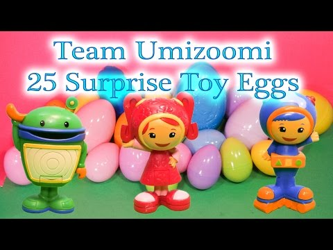 Team Umizoomi Eggs That Kids Can Play