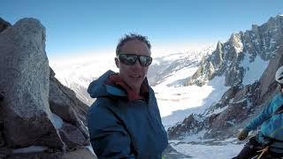 Climbing The Mallory Route In Chamonix by Matt Groom