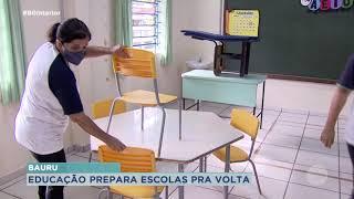 Prefeitura de Bauru  vistoria escolas para retorno presencial