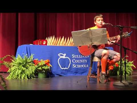Video: Brayden Ringley plays guitar and sings