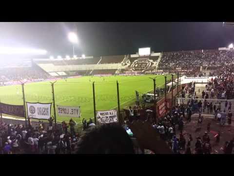 Lanús vs banfield gol de almiron y final del partido - La Barra 14 - Lanús - Argentina - América del Sur