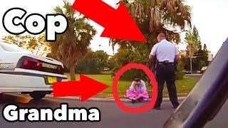 Prank Gone WRONG Falling Grandma (ARRESTED)