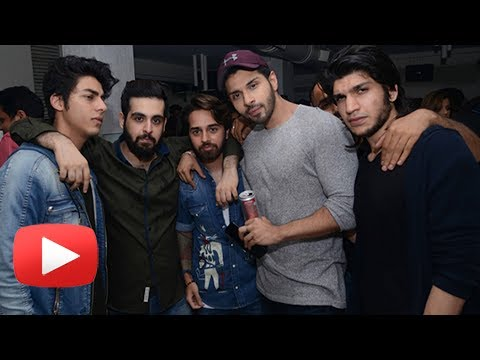 Aryan Khan Single Appearance At Mumbai Nightclub
