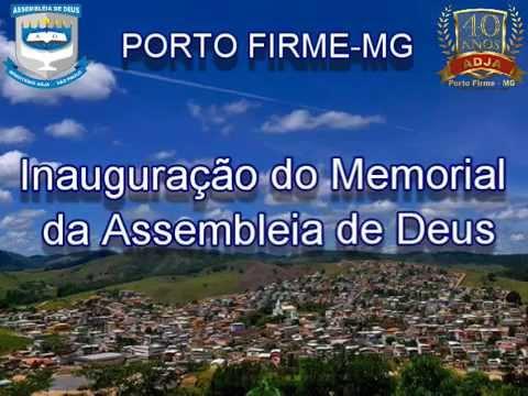 CELEBRAÇÃO 40 ANOS  ADJA PORTO FIRME - ASSEMBLEIA DE DEUS
