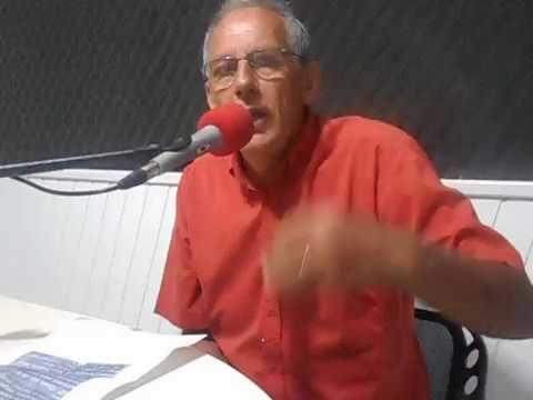 Alvaro Alves da Silva (PSD) fala como vereador eleito, em Mirim Doce