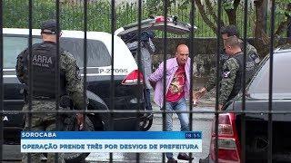 Operação prende três suspeitos de desviar recursos da prefeitura de Araçariguama