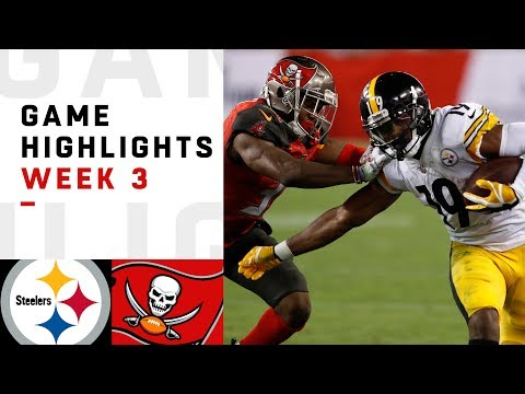 Steelers vs. Buccaneers Week 3 Highlights  NFL 2018