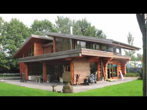 Blockhome TV - Naturstammhaus Braamt (NL)