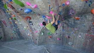 Climbing In One Of The Coolest Gyms - The Spot by Eric Karlsson Bouldering