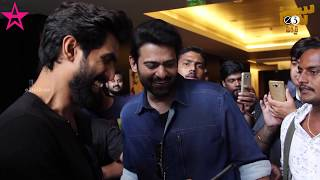 Prabhas & Rana interacting with world's first AR Poster of Nene Raju Nene Mantri . directed by Teja. produced by Suresh Daggubati, CH Bharath Chowdhary and V Kiran Reddy. music by Anup Rubens.. starring: Rana Daggubati, Kajal Aggarwal------------------------Stay connected with us!!►Subscribe to  https://goo.gl/dWTiWn►Visit us @ https://www.e3talkies.com►Like us @  https://www.facebook.com/e3talkiesofficial►Follow us @ https://twitter.com/e3talkies►Circle us@ http://goo.gl/WLYk1e