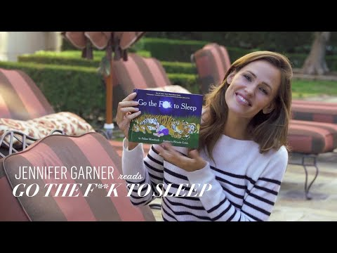 Jennifer Garner Reads Go the F k to Sleep