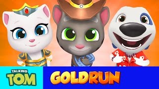 Who's going to be the first to reach a million points? Cowboy Tom, Valkyrie Angela or Hawaiian Hank?! Watch to find out and get some awesome tips and tricks on how to be a runner millionaire yourself! Subscribe to my YouTube channel: https://www.youtube.com/user/TalkingTomCat?sub_confirmation=1 I'm Talking Tom, and I'm the original talking tomcat. It's great you've stopped by. If there's fun to be had, this cool cat and my friends are probably having all of it!You should definitely check out my shorts, trailers, and gameplay videos featuring me and my friends. Also, keep up to date with my crazy thoughts and ideas via my video blog Talking Tom Brainfarts. You could try looking, but you won't find a funnier guy anywhere else! Stick around! Don't forget to explore the hilarious world of My Talking Tom. Adopt me as your very own virtual pet, dress me up the latest, greatest, and funniest outfits ever, play some really cool mini games and join in the fun. http://MyTalkingTom.comNew videos get uploaded all the time. But while you wait, check out my friends' channels too! Talking Angela and Talking Ginger have some great stuff for you to watch, and you can find even more videos over on the Talking Tom and Friends channel.Stay awesome guys,Tom :)For more fun…▶︎ enjoy our Animated Series on Talking Tom and Friends channel: https://www.youtube.com/TalkingFriends▶︎ here's the very popular Talking Angela's channel: https://www.youtube.com/TalkingAngela▶︎ don't miss out on Talking Ginger's YouTube channel: https://www.youtube.com/TalkingGingerTalking Tom is also known as: Sprechender Kater Tom, Tom qui parle,  Tom Falante, Tom el gato parlante, Konuşan Tom, توم المتكلم