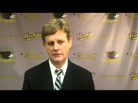 Coach Pearson Postgame Interview vs. Ferris State, 1-24-14