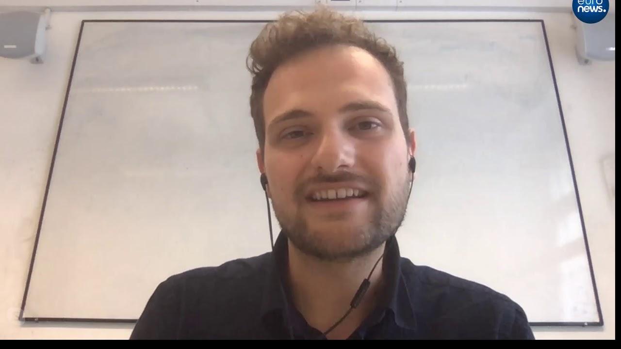 O ερευνητής Άγγελος Τσιάρας στο euronews για την ανακάλυψη νερού σε εξωπλανήτη part 1