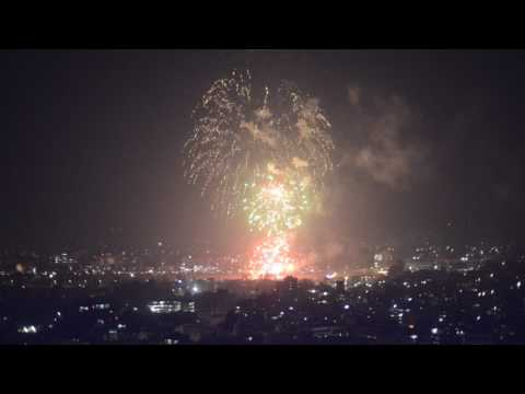 Nepal Army Fireworks to celebrates Army Day and Shivaratri