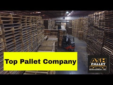 Top Pallet Company in the Midwest - Ash Pallet Management