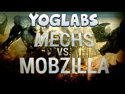 vs. - The boys travel to the depths of YogLabs to prepare their mechs, when they intercept a broadcast regarding monsters rising from the sea! Previously on Yoglab...