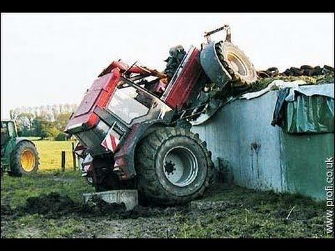 tractor - Rate, Share and Subscribe ! Like us on Facebook: http://www.facebook.com/topcrashes Car Crash Community: http://gplus.to/carcrashes Follow on Twitter: https:...