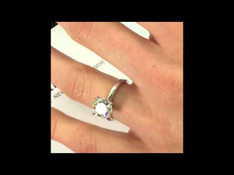 2.00 ct Round cut Diamond Solitaire Engagement Ring