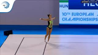 Nonton Dora Hegyi  Hun    2017 Aerobics European Silver Medallist  Individual Women Film Subtitle Indonesia Streaming Movie Download
