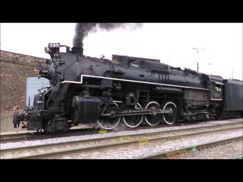 Monster Locomotive Screams Into Janesville