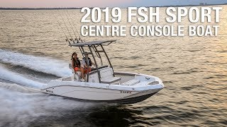 9. Yamaha's 2019 190 FSH Sport Centre Console Boat