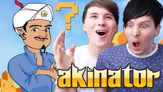 Dan and Phil Play AKINATOR