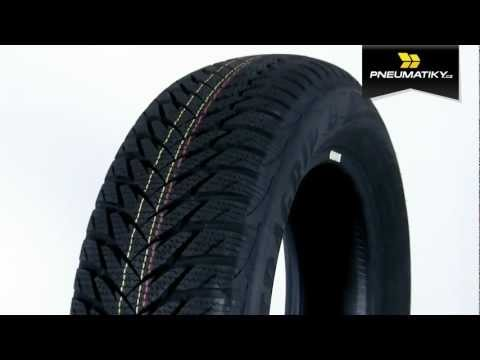 Youtube GoodYear UltraGrip 8 195/55 R16 87 H * FR Zimní